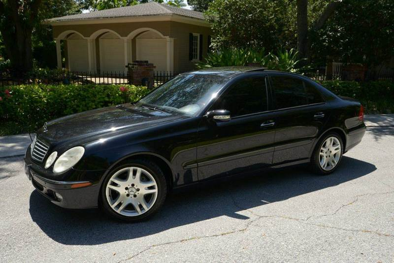 2003 mercedes benz e class e500 4dr sport sedan in fort for 2003 mercedes benz e class sedan