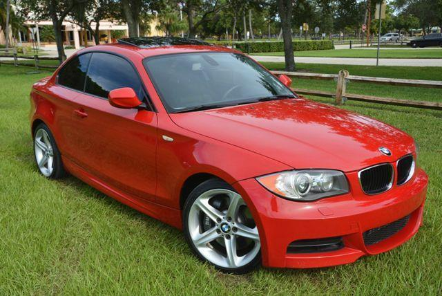 2010 BMW 1 SERIES 135I red driver air bag passenger air bag front side air bag front head air b