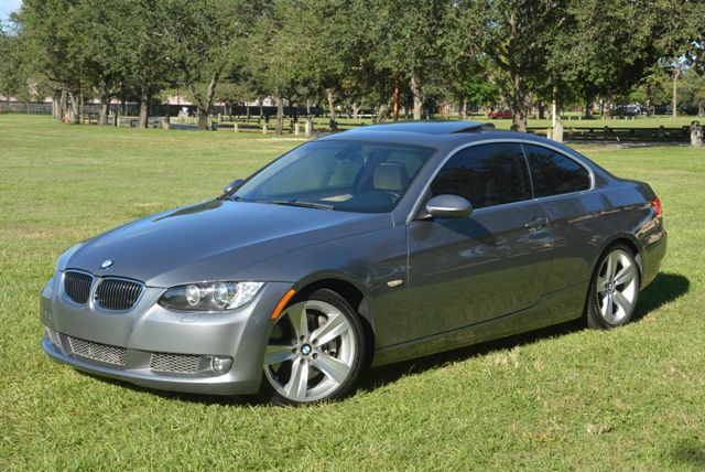 2007 BMW 3 SERIES 335I RWD gray rare 6 speed manualtwin turbo bmw 335i couplow mile