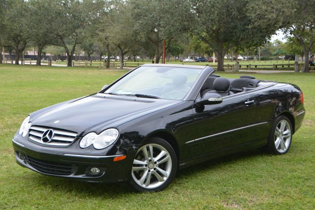 2008 MERCEDES-BENZ CLK-CLASS CABRIOLET 35L black great deal on this mercedes clk350 convertible