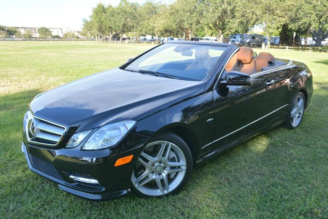 2012 MERCEDES-BENZ E-CLASS E550 CABRIOLET DISTRONIC black gorgeous mercedes e550 cabrioletwi