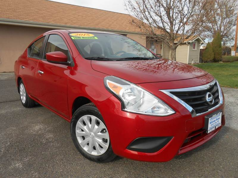 2015 nissan versa 1 6 sv 4dr sedan in union gap wa. Black Bedroom Furniture Sets. Home Design Ideas