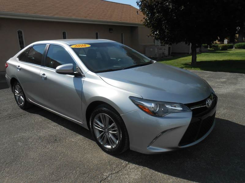 2016 toyota camry special edition 4dr sedan in union gap. Black Bedroom Furniture Sets. Home Design Ideas