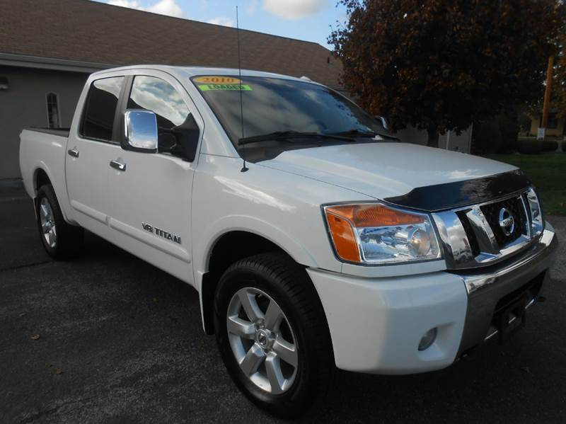 2010 nissan titan le 4x4 4dr crew cab swb pickup in union. Black Bedroom Furniture Sets. Home Design Ideas