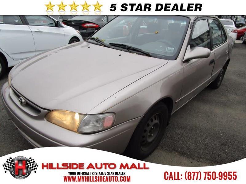 2000 toyota corolla for sale for Hillside motors jamaica ny