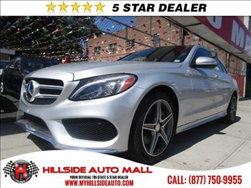 2015 Mercedes-Benz C-Class for sale in Jamaica, NY