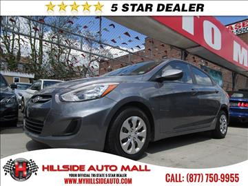 2015 Hyundai Accent for sale in Jamaica, NY