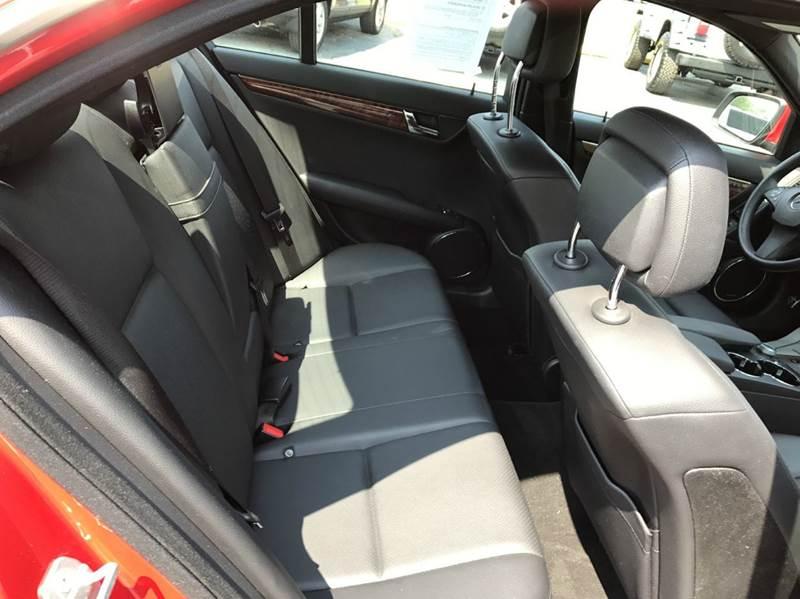 2009 Mercedes-Benz C-Class AWD C 300 Luxury 4MATIC 4dr Sedan - Flushing MI