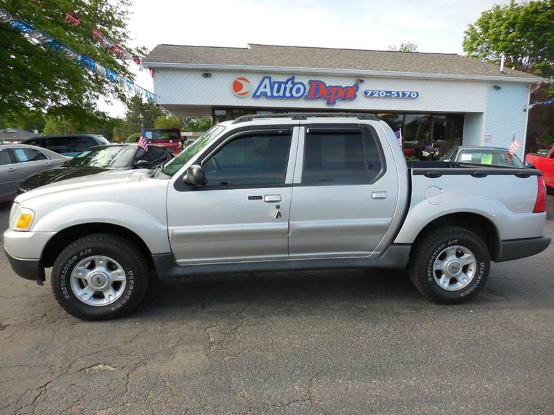 2004 ford explorer sport trac 4dr xlt 4wd crew cab sb in flushing mi the auto depot. Black Bedroom Furniture Sets. Home Design Ideas