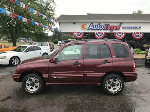 2003 Chevrolet Tracker for sale in Flushing, MI