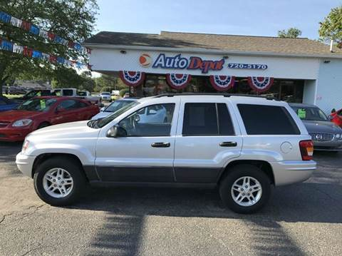 2003 Jeep Grand Cherokee for sale in Flushing, MI
