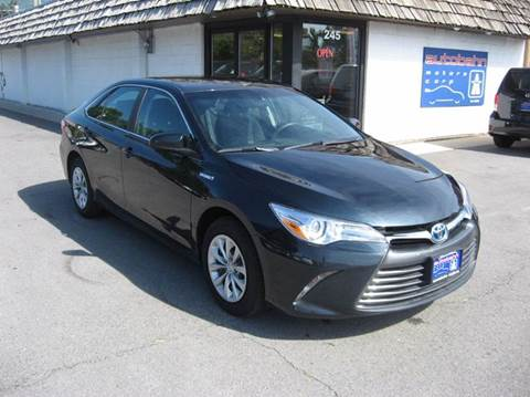 2016 Toyota Camry Hybrid for sale in Bountiful, UT