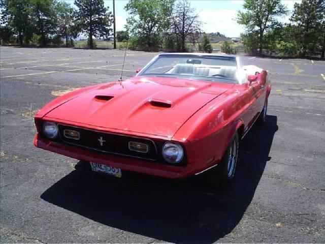1972 FORD Mustang CONVERTIBLE - Klamath Falls OR