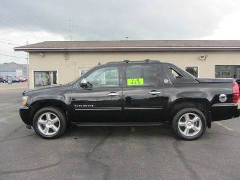 2012 Chevrolet Avalanche for sale in Cadillac, MI