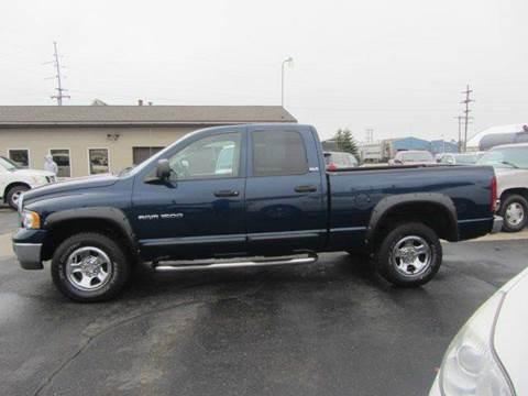 2002 Dodge Ram Pickup 1500 for sale in Cadillac, MI