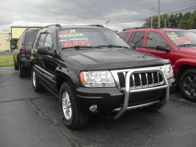 2004 jeep grand cherokee overland 4dr 4wd suv in imlay city mi imlay city auto sales. Black Bedroom Furniture Sets. Home Design Ideas