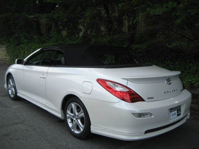 2007 toyota camry solara sport v6 2dr convertible in woodstock ga selective cars. Black Bedroom Furniture Sets. Home Design Ideas