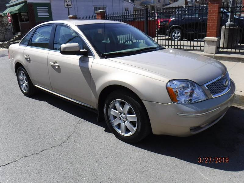 2007 ford 500 sel awd