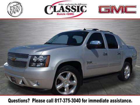 2013 chevrolet avalanche for sale in texas. Black Bedroom Furniture Sets. Home Design Ideas