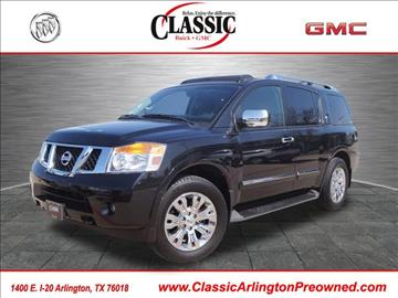 used nissan armada for sale. Black Bedroom Furniture Sets. Home Design Ideas