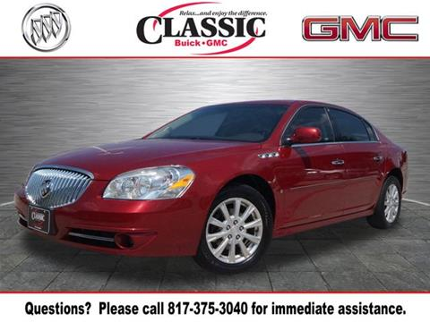 2010 Buick Lucerne for sale in Arlington, TX