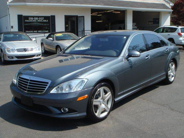 2008 mercedes benz s class s550 4matic awd 4dr sedan in for Mercedes benz s500 2008
