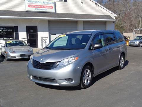 2011 toyota sienna for sale massachusetts. Black Bedroom Furniture Sets. Home Design Ideas