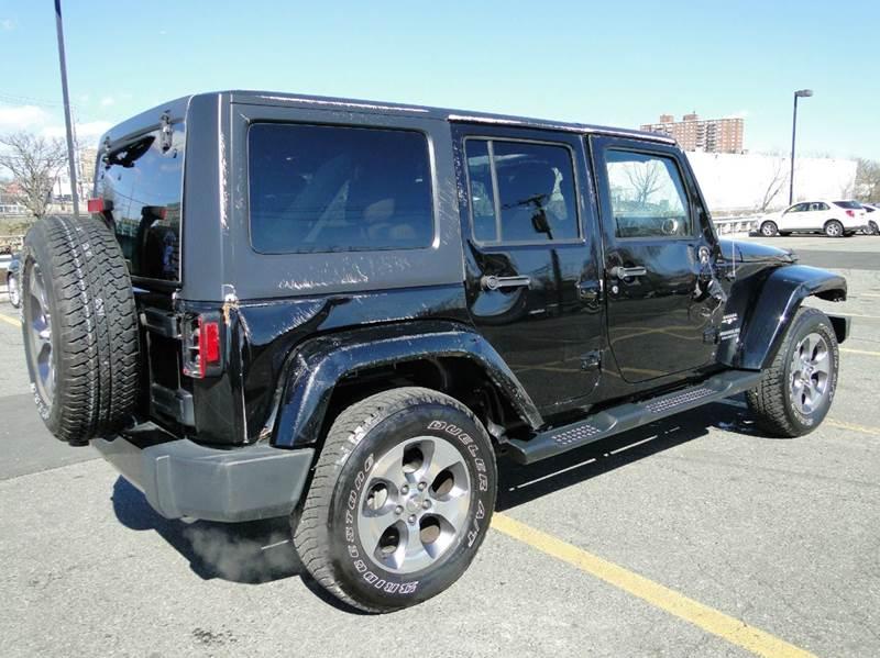 2016 Jeep Wrangler Unlimited Sahara 4x4 4dr SUV - Brooklyn NY