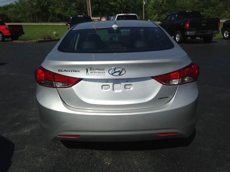 2013 Hyundai Elantra Limited 4dr Sedan - Washington MO