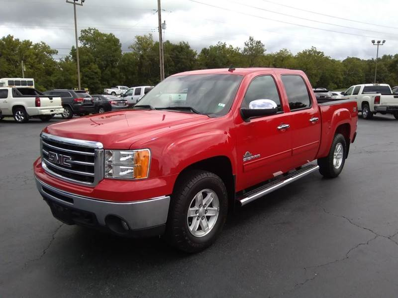 2013 GMC Sierra 1500 4x4 SLE 4dr Crew Cab 5.8 ft. SB - Washington MO