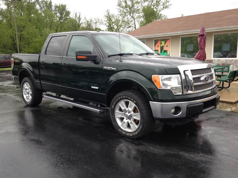 2012 Ford F-150 4x4 Lariat 4dr SuperCrew Styleside 5.5 ft. SB - Washington MO