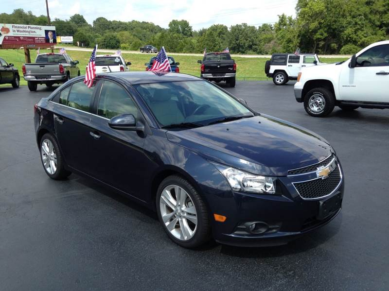 2014 Chevrolet Cruze LTZ Auto 4dr Sedan w/1SJ - Washington MO