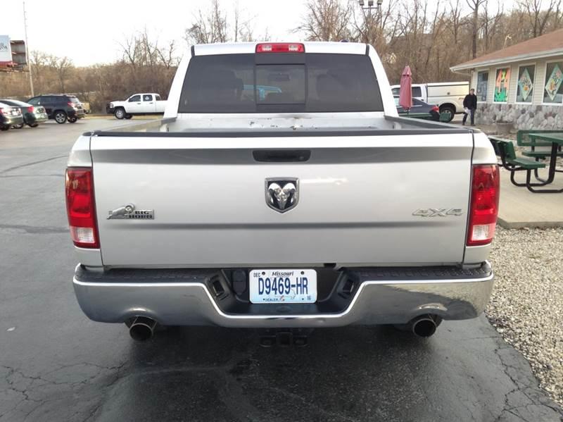2011 RAM Ram Pickup 1500 4x4 Big Horn 4dr Crew Cab 5.5 ft. SB Pickup - Washington MO