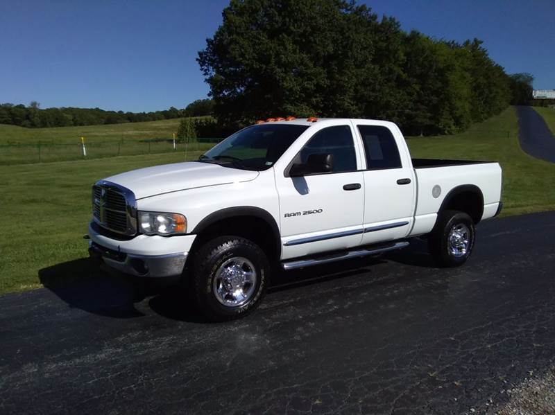 2004 Dodge Ram Pickup 2500 4dr Quad Cab Laramie 4WD SB - Washington MO