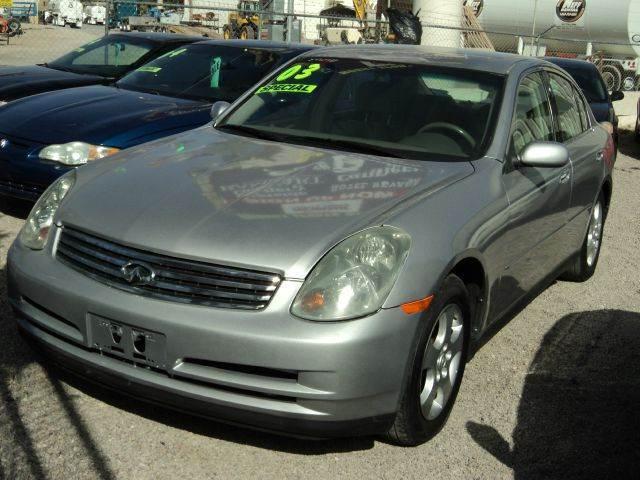 2003 Infiniti G35