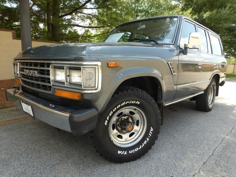 1988 Toyota Land Cruiser 4dr 4WD SUV   Old Hickory TN