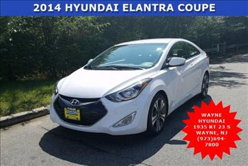 2014 Hyundai Elantra Coupe for sale in Wayne NJ