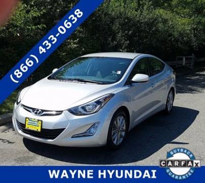 2015 Hyundai Elantra for sale in Wayne NJ
