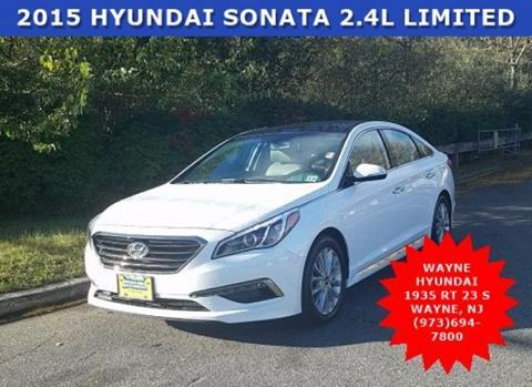 2015 Hyundai Sonata for sale in Wayne NJ