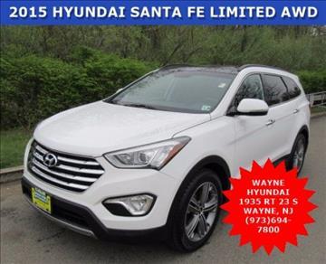 2015 Hyundai Santa Fe for sale in Wayne, NJ