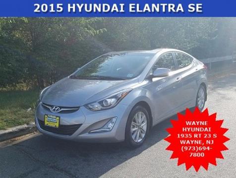 2015 Hyundai Elantra for sale in Wayne, NJ
