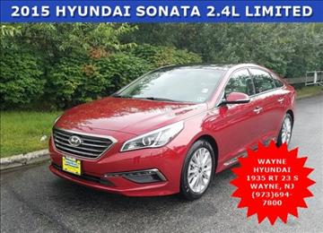 2015 Hyundai Sonata for sale in Wayne, NJ