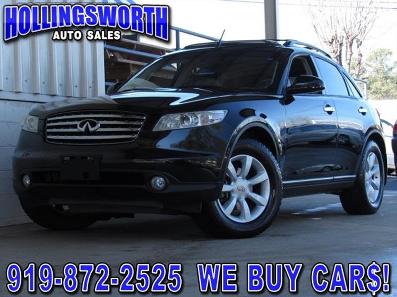 Infiniti fx35 for sale in raleigh nc carsforsale 2005 infiniti fx35 for sale in raleigh nc sciox Images