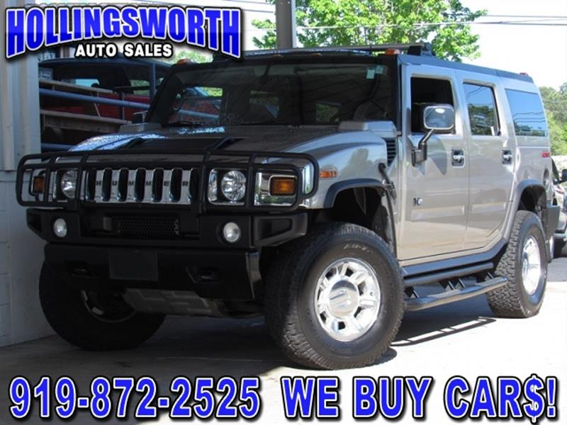 2005 hummer h2 lux series 4wd 4dr suv in raleigh nc hollingsworth auto sales. Black Bedroom Furniture Sets. Home Design Ideas