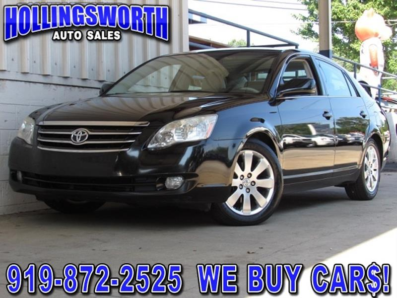 used toyota avalon for sale in raleigh nc. Black Bedroom Furniture Sets. Home Design Ideas
