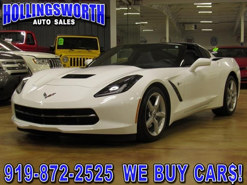 used 2014 chevrolet corvette for sale in north carolina. Black Bedroom Furniture Sets. Home Design Ideas