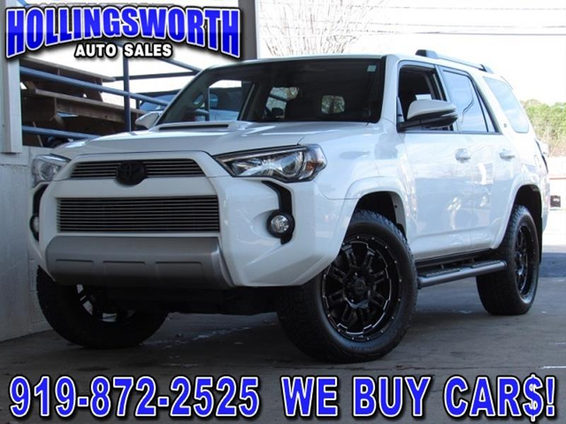 toyota 4runner for sale in raleigh nc. Black Bedroom Furniture Sets. Home Design Ideas