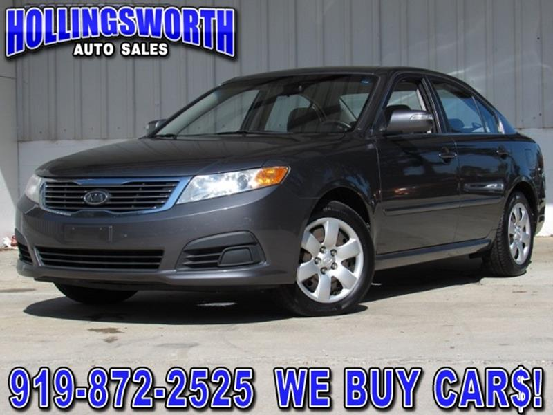 2009 Kia Optima LX 4dr Sedan (I4 5A)   Raleigh NC
