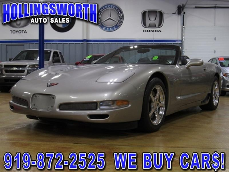 chevrolet corvette for sale in raleigh nc. Black Bedroom Furniture Sets. Home Design Ideas