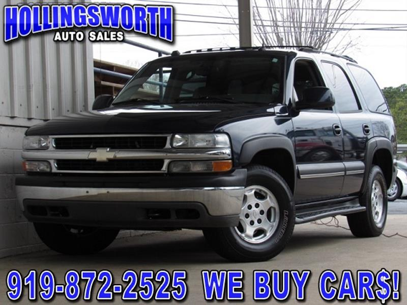 used 2004 chevrolet tahoe for sale in north carolina. Black Bedroom Furniture Sets. Home Design Ideas